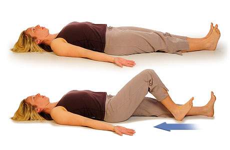 Bed-Supported Knee Bends